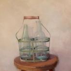 """Bottles - Oil on Linen - 34"""" x 22"""" - $1600"""