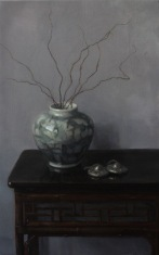 "Empty Nest - Oil on Linen - 30"" x 19"""