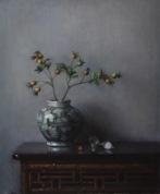 """Empty Nest #2 - Oil on linen (Framed) - 26"""" x 21"""" $1800"""