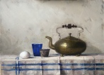 Kettle with Egg - Sold
