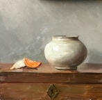 Tangerine with Chinese Bowl
