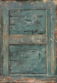 Country Door - Oil on Linen - $2300